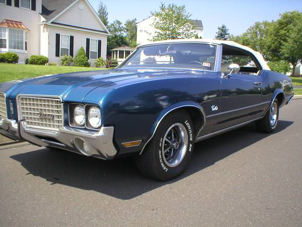 1972 Oldsmobile Cutlass Supreme Convertible West Chester Pa