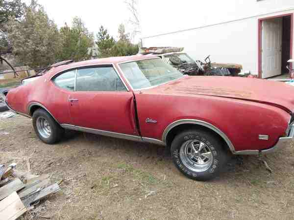 Oldsmobile Cutlass Project Car For Sale