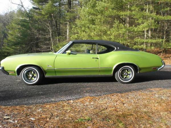 1971 Oldsmobile Cutlass All Original