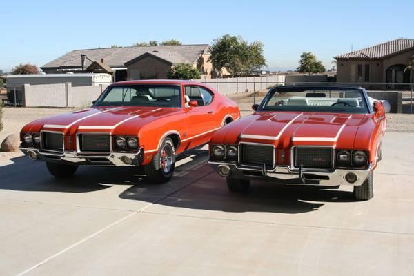 Matching Pair 1972 Oldmobile 442 Clones