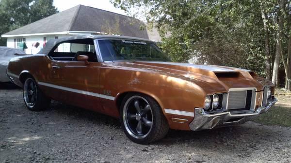 1972 Cutlass Convertible (442 Clone)