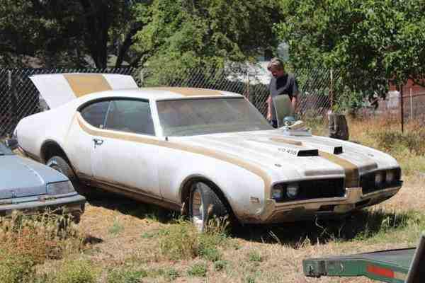1969 Oldsmobile Cutlass Hurst Olds 455 Tribute Sacramento