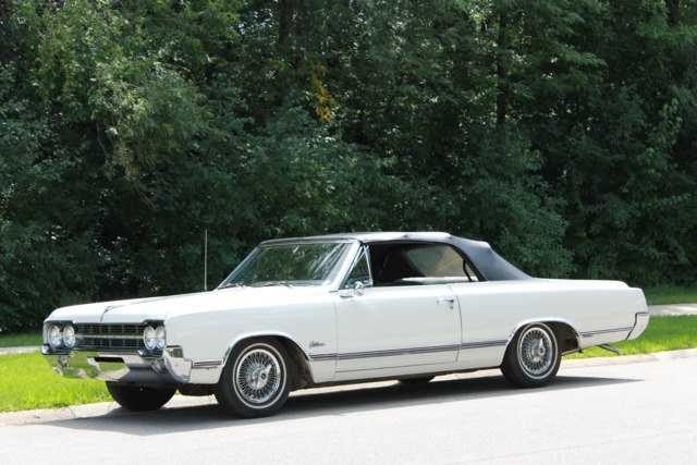 1965 Oldsmobile Cutlass Convertible Survivor