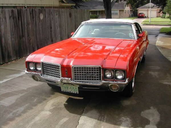 1972 Cutlass Supreme Convertable
