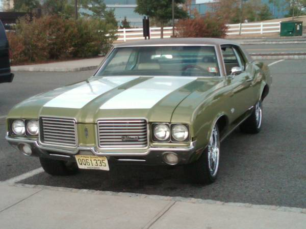 72 olds cutlass supreme parts