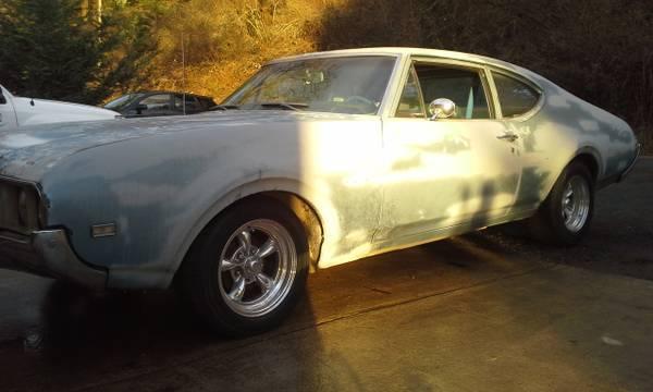 1969 Oldsmobile Cutlass F85