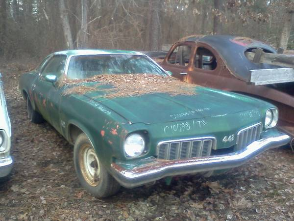 1973 Olds 442 project