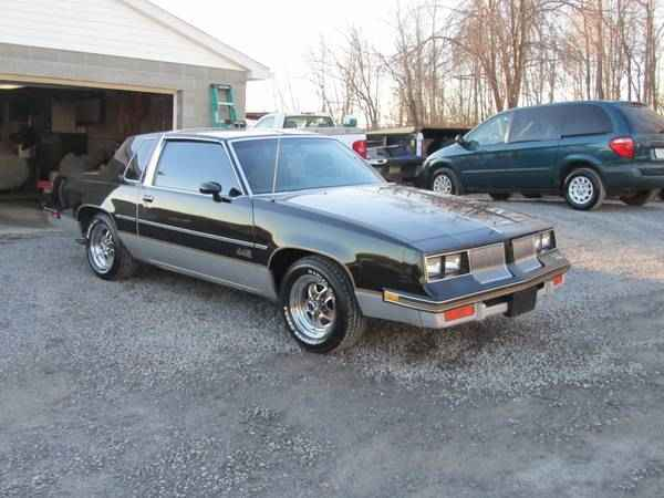 1986 Olds 442 /glass t-tops