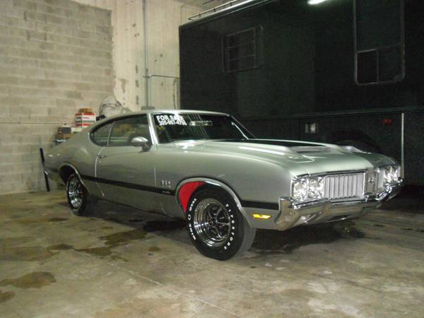 1970 oldsmobile 442 w30 / w27 rear (Houston, TX ...