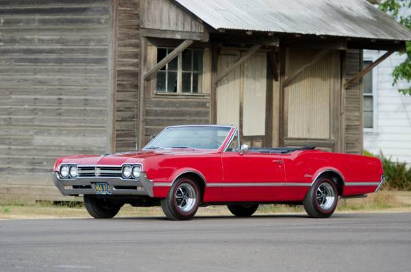 1966 Cutlass Convertible