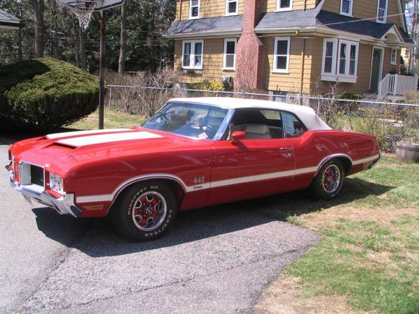 1971 Olds 442 W-30 Convertible
