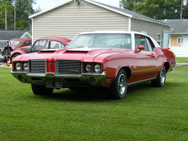 1972 Oldsmobile Cutlass Supreme Tri Cities Tn