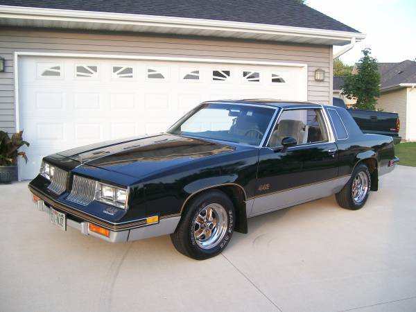 1985 olds 442 w t tops 53k org miles oshkosh wi for 85 cutlass salon