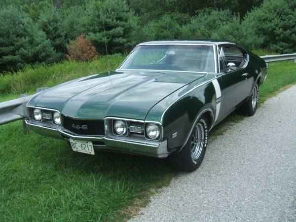 1968 Olds 442 4-Speed (Eldersburg, MD) | OldsmobileCENTRAL.com