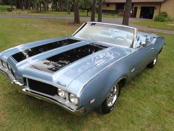 1969 Olds 442 Convertible Eagle River WI