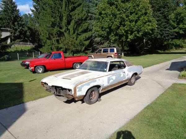1972 Hurst Olds 442 Project Car