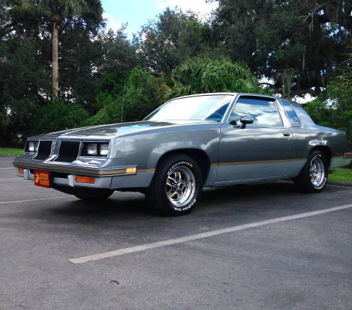 1986 cutlass salon 442 orlando fl for 1986 oldsmobile cutlass salon