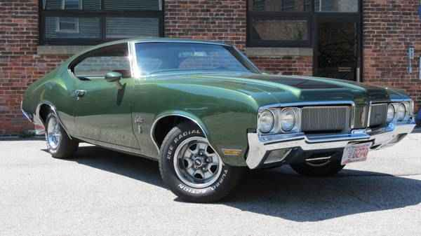 1970 Oldsmobile Cutlass S Holiday Coupe Dedham Ma