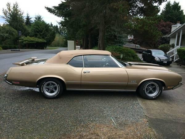 Car Paint Job Cost Estimator >> 1972 Cutlass Convertible 442 (Bonney Lake, WA)   OldsmobileCENTRAL.com