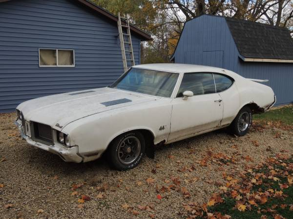 1972 Olds 442 Project