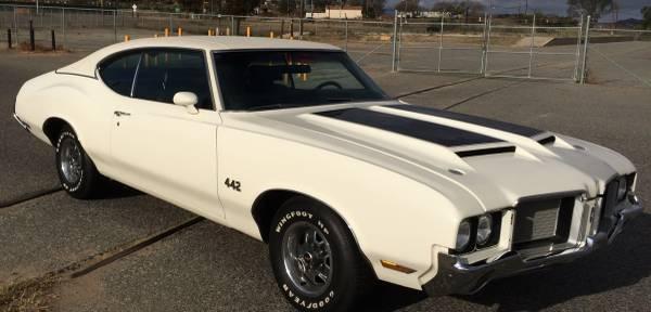 1972 Olds V code 442