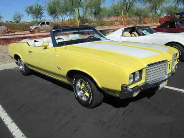 1972 Cutlass Supreme Convertible Tucson Az