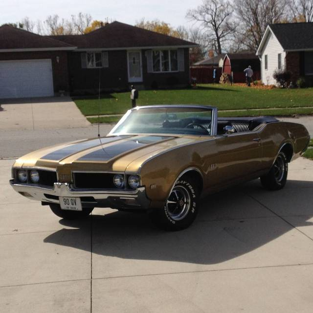 1969 Oldsmobile 442 Convertible Versailles OH