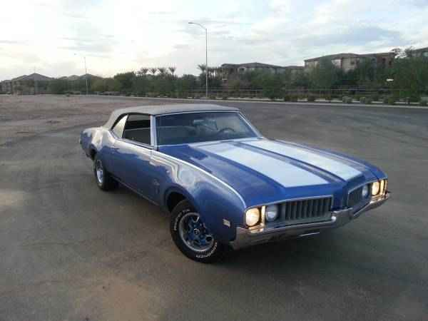 1969 Olds Cutlass S Convertible