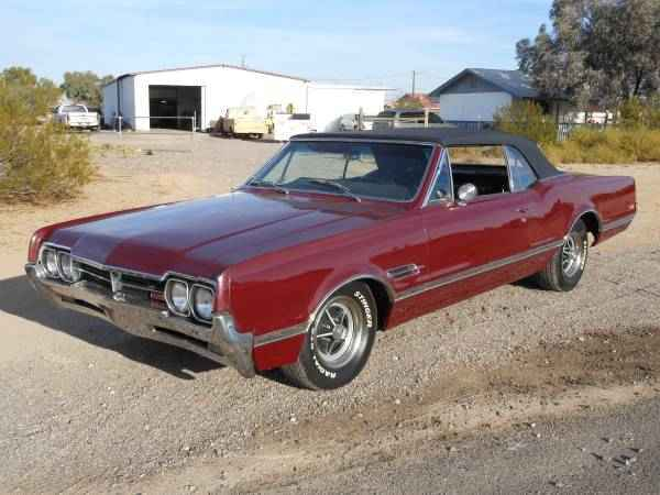 1966 Olds 442 Convertible