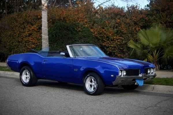 1969 442 Convertible