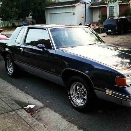 1987 Oldsmobile 442 with T-tops