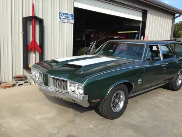 1970 Cutlass Cruiser Station Wagon