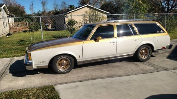 1980 Olds 442 Wagon W30