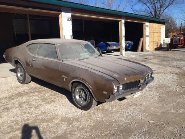 1969 Cutlass S Odessa Mo Oldsmobilecentral Com
