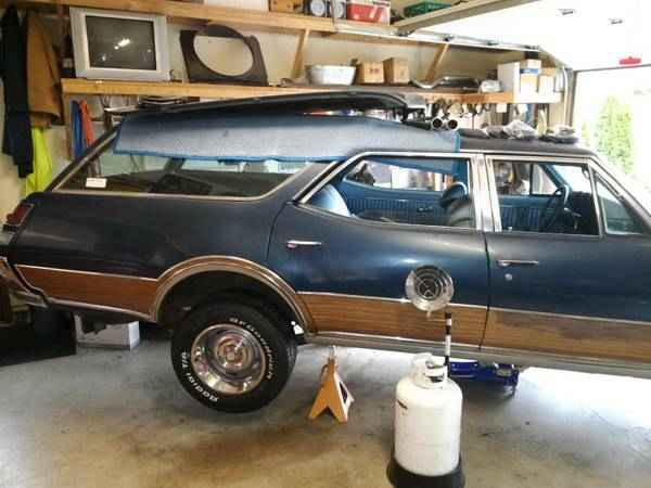 1969 Olds Vista Cruiser Project