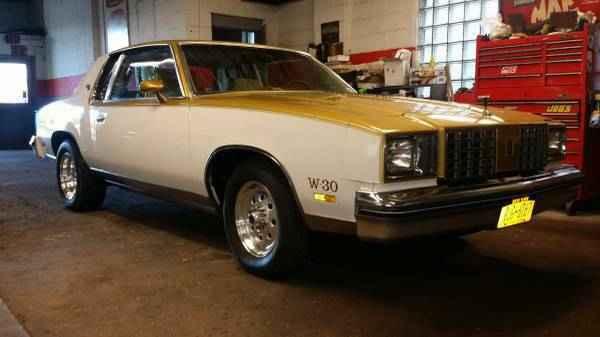 1979 Hurst Oldsmobile Cutlass W30