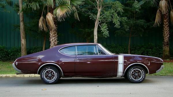 1968 Olds 442 4 speed