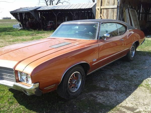 1971 Olds Cutlass All Original
