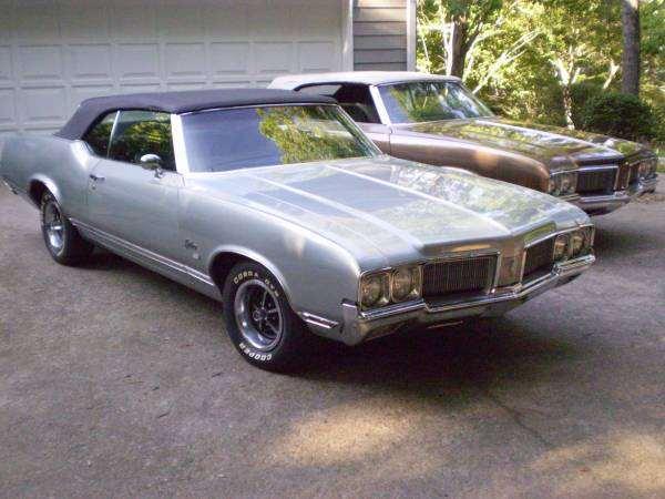 1970 Olds Cutlass SX Convertible