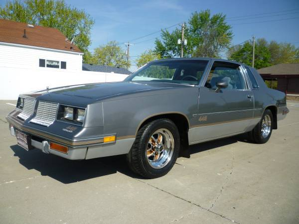 1985 cutlass salon 442 council bluffs ia for 85 cutlass salon