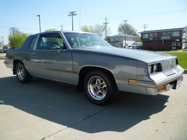 1985 Cutlass Salon For Sale Of 1985 Cutlass Salon 442 Council Bluffs Ia