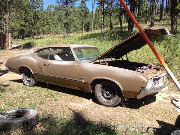 1970 Oldsmbile Cutlass S