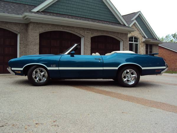 1972 Oldsmobile 442 Clone Convertible