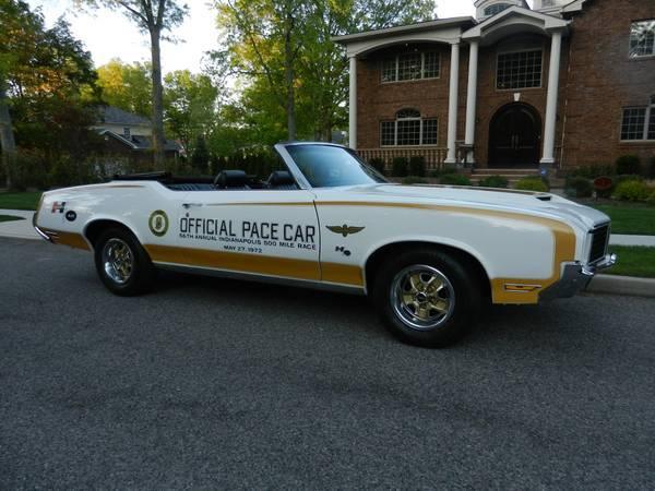 1972 Cutlass Convertible Indy 500 Pace Car