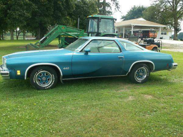 1975 oldsmobile 442 bloomington il for 1975 oldsmobile cutlass salon for sale