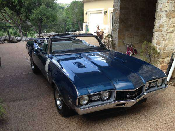 1968 442 Convertible Oldsmobile