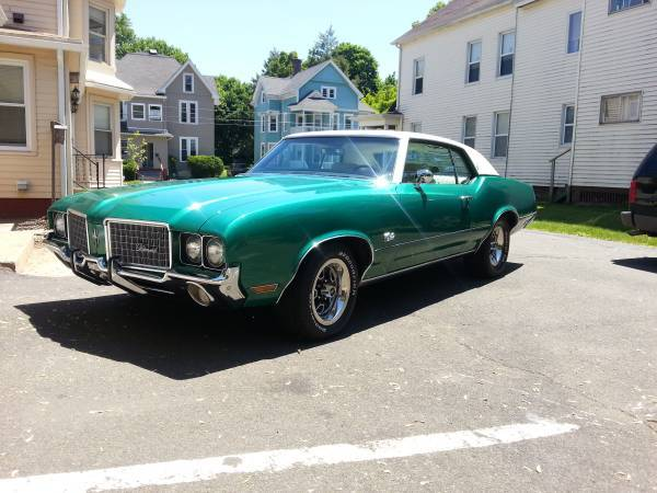 Original 72 Cutlass Supreme