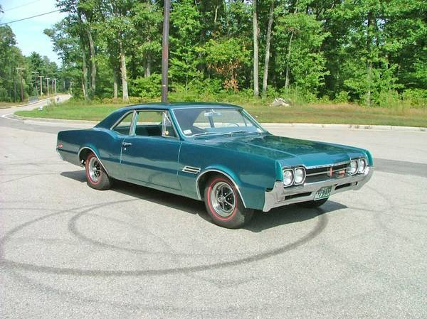1966 Olds 442, 400 Tri-Power, 4-spd