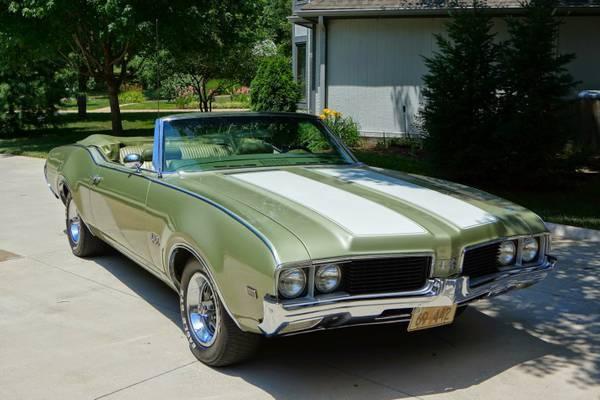 1969 Olds 442 Convertible Topeka KS