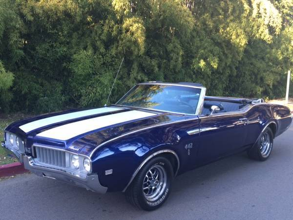 1969 Olds Convertible 442 Tribute